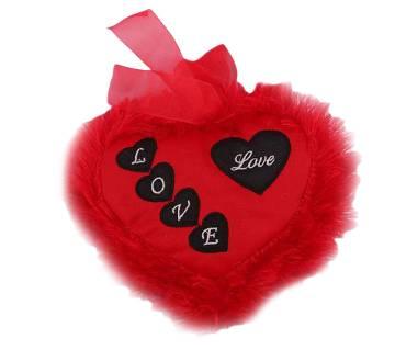 I Love You Heart Shaped Pillow