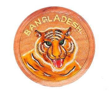 Hand Crafted Wooden Tiger Show-Peace