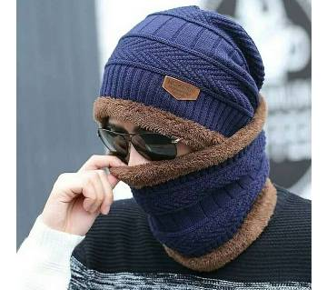 Unisex Winter Cap And Scarf Set