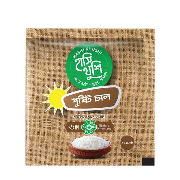 Hashi Khushi Pusti Chal (10 gm x 30 pcs) 1 Box