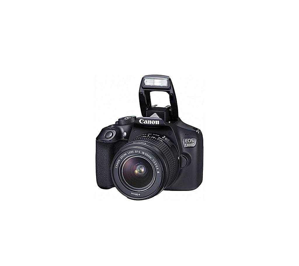 Canon 1300D- 18.0 MP 3x Optical Zoom DSLR Camera With EF-S 18-55mm f/3.5-5.6 III Lens বাংলাদেশ - 729803