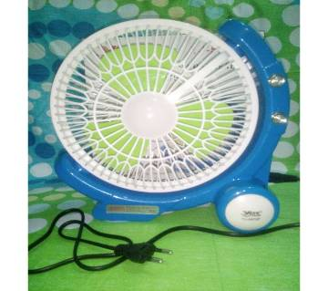Rechargeable Fan with Light