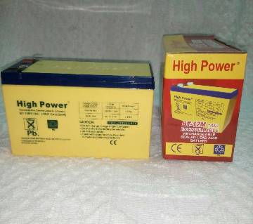 High Power Battery-DC-12Volt.