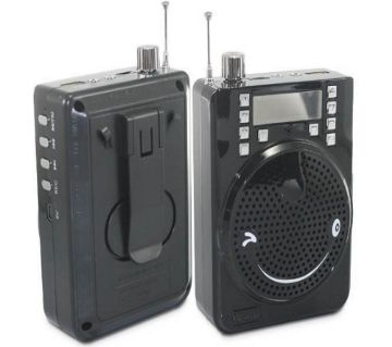 Rechargeable Bluetooth Speaker, FM Radio, MP3 Player