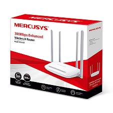 Mercusys Router Wi-Fi/Wireless-300Mbps (4 antennae)