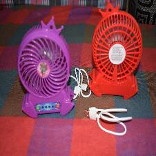 Rechargeable Mini Fan/Power Bank/Mini Light.