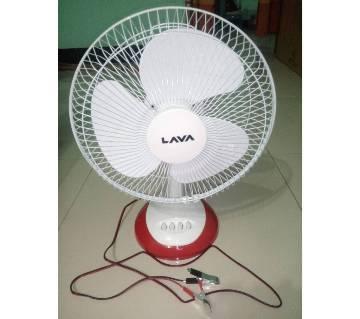 LAVA-FT30 Solar Fan or D.C Table Fan