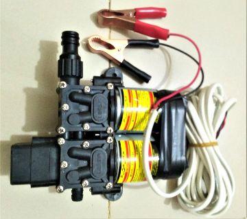 Car Washing Water Pump,100Watt,12Volt-DC(Double Motor) for Car Washing, Garden, Irrigation