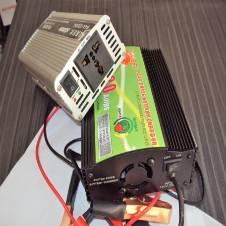Power Inverter/IPS-600Watt & Battery Charger-20Amp Set