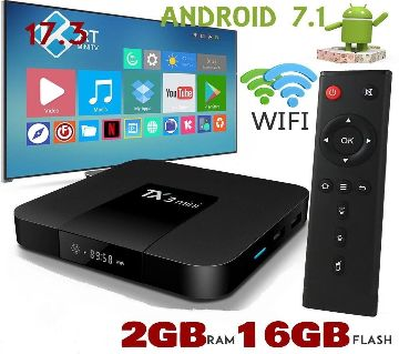 Smart TX3 Mini Android TV Box, Wi-Fi, 2GB RAM, 16GB ROM for CRT TV, LCD TV, LED TV, Monitor, Projectors.