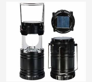 Black Solar rechargeable led light