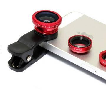 3 in 1 clip lens