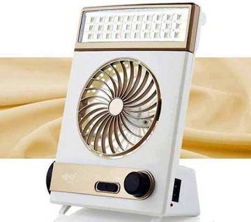 3 in 1 rechargeable fan and light