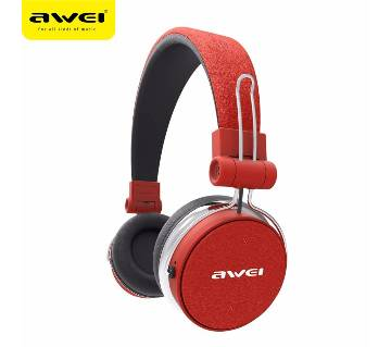 Awei A700BL stereo Bluetooth headset Red