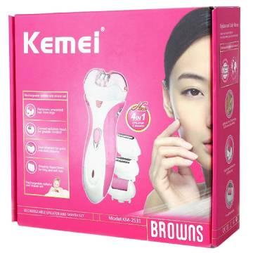 KEMEI KM-2531 4 in 1 Women Electric Epilator
