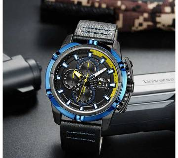 MEGIR 2062 Japan Quartz Chronograph Military Army Watches for Men