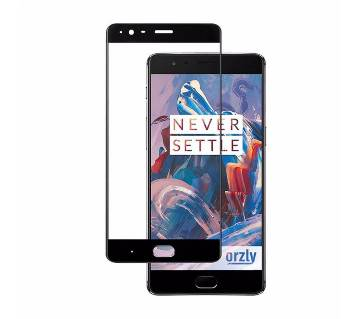 Curve Tempered Glass For OnePlus 3 - Black