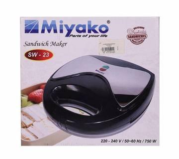 Miyako SW-23 Sandwich Maker - Black