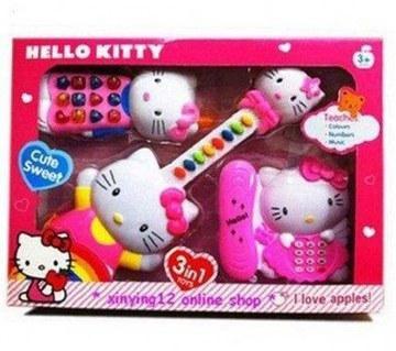 Hello Kitty 3 in1 টয় সেট