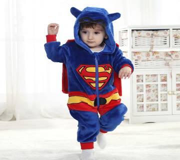 Superman design Baby Winter Romper