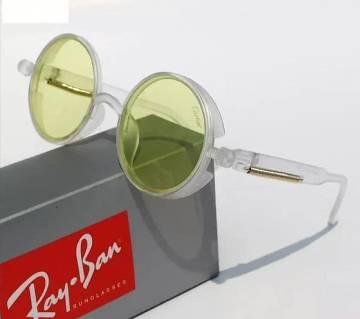 Watermark Yellow Lens Round Sunglasses For Men (copy)