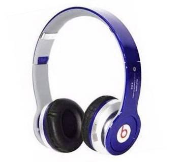 BEATS SOLO HD Stereo Headphones-Blue (Copy)