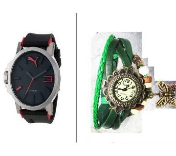 PUMA Gentle Watch Watch Ladies Bracelet Watch