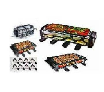 Portable Electric BBQ Grill set