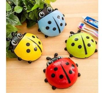 Ladybug শেপড টুথব্রাশ হোল্ডার (১পিস)