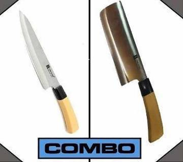 Kitchen Knife + Meat Cutting Knife Combo Offer