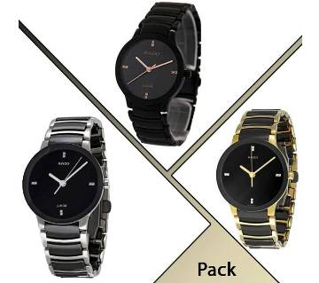 Pack of 3pcs Rado Men