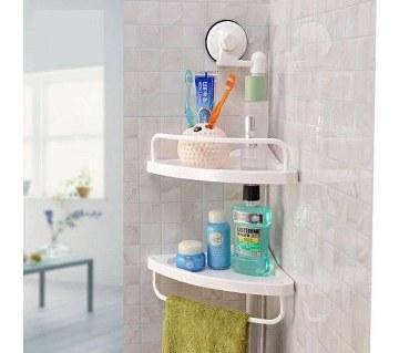Double Layer Corner Shelf