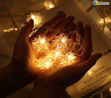 Star Shape String Decoration LED Fairy Light