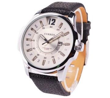 Curren Mens Wrist Watch -Black