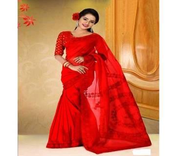 Silk Muslin Boishakhi sari