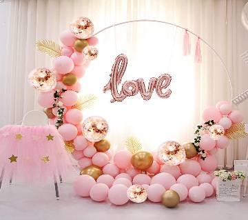 Birthday Party Decoration Metallic Balloon