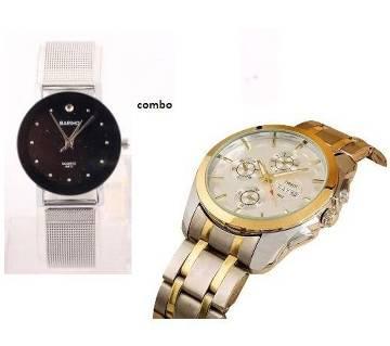 Bariho Ladies watch + Tissot Mens Watch copy