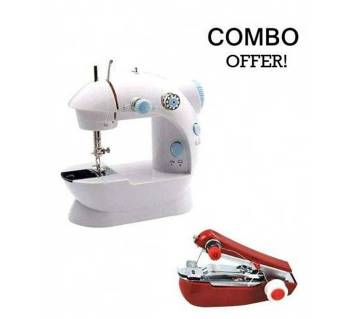 Electric & Handy Sewing Machine Combo Offer