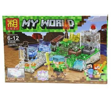 MY WORLD LEGO SET