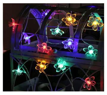 Flower Shape String LED Decoration Light
