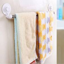 Bathroom Wall Folding CornerTowel Rack