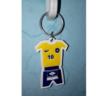 Brazil Jersey Key Ring