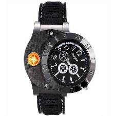 HUAYUE Watch Design Creative USB Electronic Cigarette Lighter