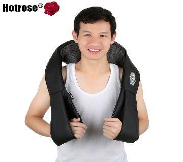 3 Massage Speeds Multi-function Electric U-shaped Massage Pillow Relieve Fatigue Shoulder Cervical Neck Shoulder Massager Home Car Dual Use - 3 Button