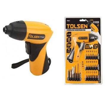 Cordless Screwdriver Set With Drill Machine