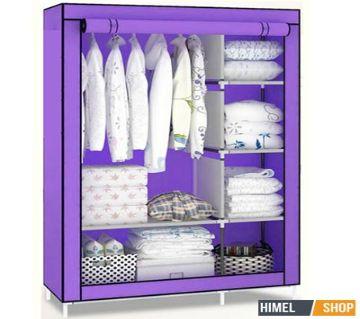 Portable Almirah and Folding Cloth Storage wardrobe 2 Layer