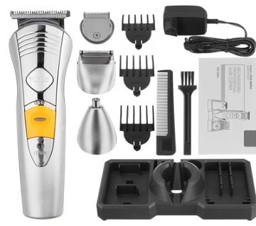 Rechargeable Shaver and Trimmer 7 in 1 kemei KM-580A