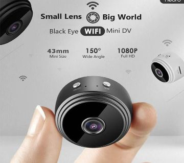 WiFi IP Action Camera Night Vision A9 - Black