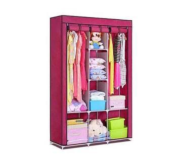 Fabric Storage Wardrobe 3 Layer