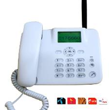 GSM Land Phone (1 SIM Supported)